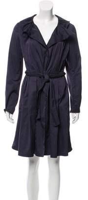 Tahari Belted Lightweight Coat