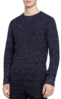 Reiss Pierre Flecked Crewneck Sweater
