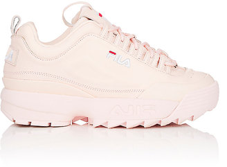 FILA Women's Disruptor 2 Lux Leather Sneakers $120 thestylecure.com