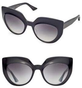 Dita Eyewear Conique 53MM Cat-Eye Sunglasses