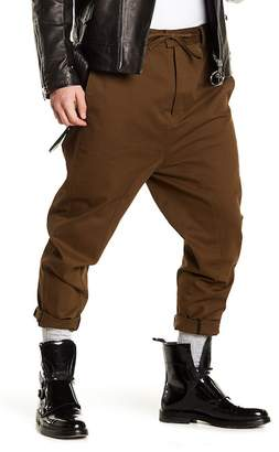 Chapter Drawstring Wide Leg Khaki Pant