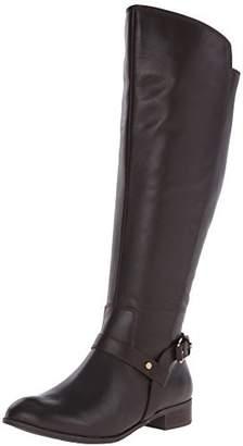 Anne Klein Women's Kahlan Wide Calf Leather