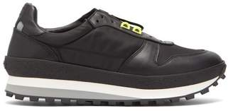 Givenchy Tr3 Runner Low Top Leather Trainers - Mens - Black