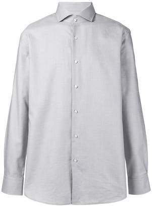 HUGO BOSS spread collar shirt