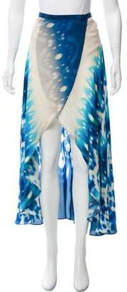Vix Paula Hermanny Printed Maxi Skirt