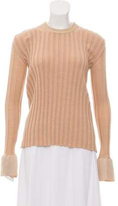 Celine Wool Rib Knit Sweater w/ Tags