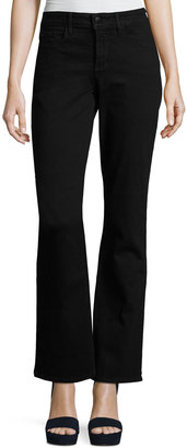 NYDJ Barbara Boot-Cut Denim Jeans, Black $89 thestylecure.com
