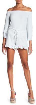 Timing Stripe Knit Shorts