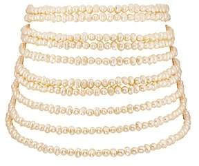 Loren Stazia Women's Multi-Strand Imitation-Pearl Necklace