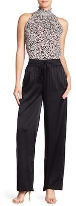 A.L.C. Kiesley Wide Leg Silk Blend Pants