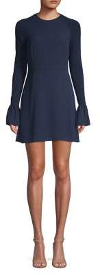 LIKELY Bell-Sleeve Shift Dress