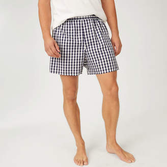 Club Monaco Sleepy Jones Gingham Boxer