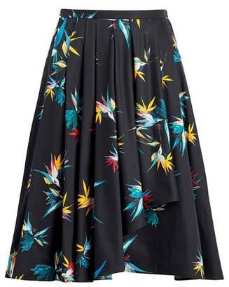 Jason Wu X Hotel Esencia Cotton Poplin Cascade Skirt