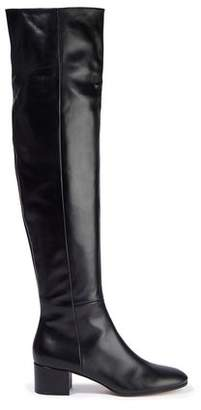 Gianvito Rossi Rollind Leather Over-the-knee Boots