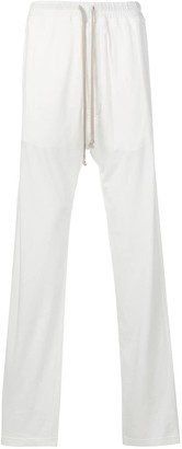 Rick Owens side buttons drop-crotch trousers