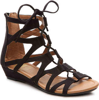 11f48a63e353 Crown Vintage Sarah Wedge Gladiator Sandal - Women s