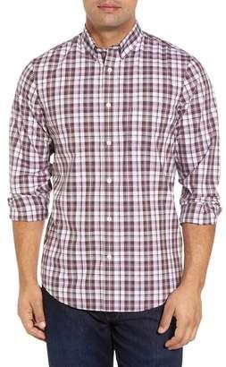 Nordstrom Smartcare(TM) Regular Fit Plaid Sport Shirt