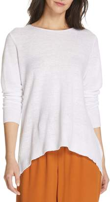 4fb0fff1865 Eileen Fisher Organic Linen Sweater - ShopStyle