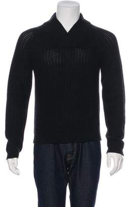 Rag & Bone Wool Shawl Collar Sweater