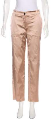 Dolce & Gabbana Straight-Leg Satin Pants