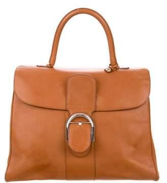 Delvaux Brillant Leather Handle Bag