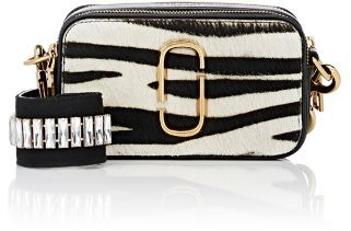 Marc Jacobs Women's Small Camera Bag-BLACK, WHITE $450 thestylecure.com