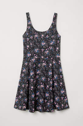 H&M Sleeveless Jersey Dress - Pink