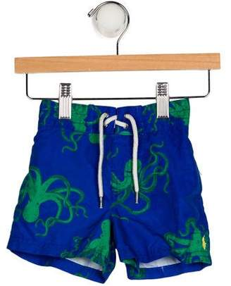 Ralph Lauren Boys' Printed Swim Shorts