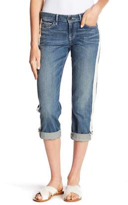 True Religion Starr Crop Relaxed Straight Leg Jeans