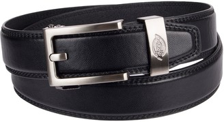 Dickies Men's Custom-Fit Bonded-Leather Belt