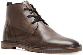 Frye Men's Ashland Leather Chukkas Men's Shoes