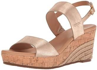 UGG Women's Elena Metallic Wedge Sandal