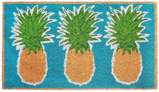 Liora Manné Natura Pineapples Indoor Outdoor Coir Doormat - 18'' x 30''