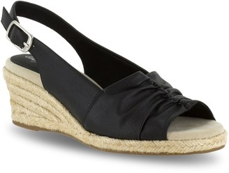 Easy Street Shoes Kindly Women's Espadrille Wedge Sandals