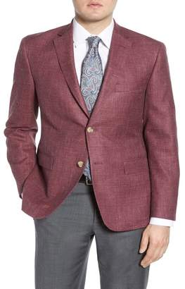 John W. Nordstrom R) Traditional Fit Solid Cotton Blend Sport Coat