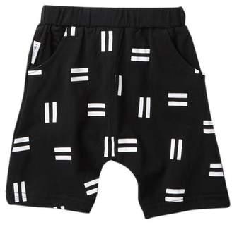 TINY TRIBE Pause Relaxed Shorts (Baby Boys)