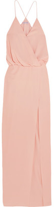 Elizabeth and James - Kora Gathered Twill Gown - Pastel pink $495 thestylecure.com