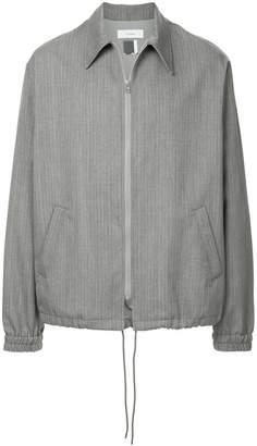 Facetasm striped boxy jacket