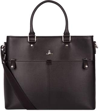 Vivienne Westwood Leather Tote Bag