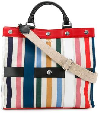 Sonia Rykiel large striped tote