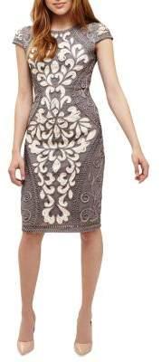 Phase Eight Perdy Tapework Embellished Dress