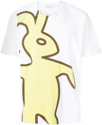 Marni Dance Bunny print T-shirt