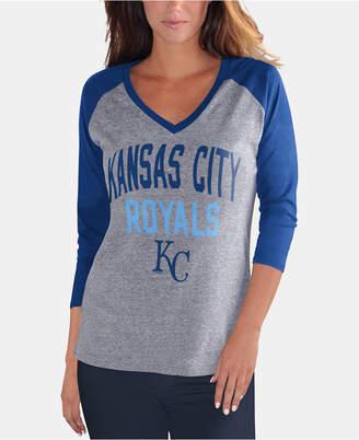 G-iii Sports Women Kansas City Royals It a Game Raglan T-Shirt