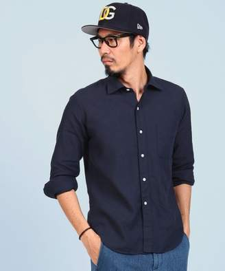 The DUFFER of ST. GEORGE LINEN COOLMAX CHAMBRAY SHIRT: シャンブレーシャツ