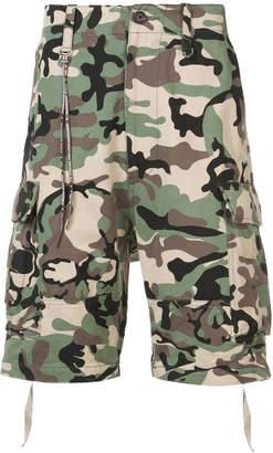 Mastermind Japan (マスターマインド) - Mastermind Japan camouflage print shorts