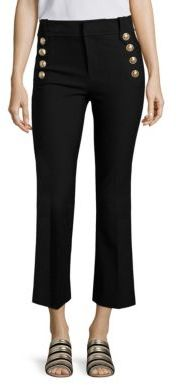 Derek Lam 10 Crosby Cropped Flared Sailor Trousers $365 thestylecure.com
