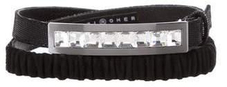 Suzi Roher Embellished Skinny Belt w/ Tags