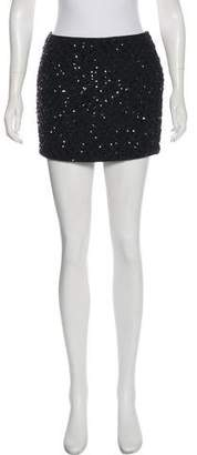 Pinko Sequined Mini Skirt w/ Tags