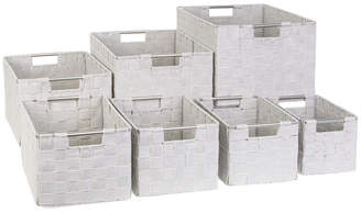 Richard's Homewares Richards Homewares Strap Totes Set, Rectangle Shape, Set of 7
