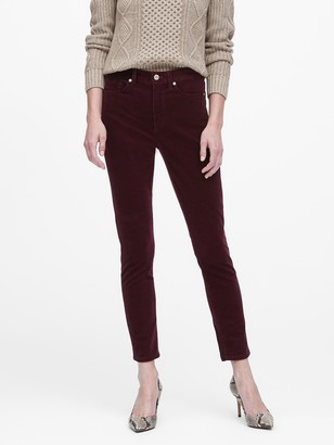 Banana Republic High-Rise Skinny Corduroy Pant
